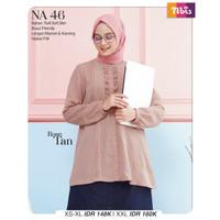 Atasan Terbaru / Atasan wanita Muslim / Atasan Nibras NA46