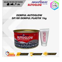 Dempul AutoGlow 1 kg Mobil/Motor/Besi/Kayu