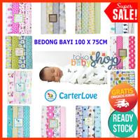 Bedong 4in1 Kain Bayi by Carter Carters Besar Jumbo Selimut Isi 4 - RANDOM GIRL