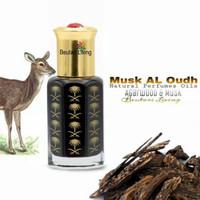 12ML Musk Al Oud Parfume Oil Arab (Parfum Munyak Kasturi Kijang Gaharu