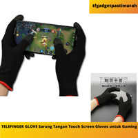TELEFINGER GLOVE Sarung Tangan Touch Screen Gloves untuk Gaming