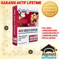 [FULL VERSION] AVS Video Editor 9 Software - GARANSI AKTIVASI