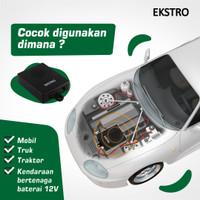 Tissor Extro Pengusir Tikus Ultrasonic T211 Tanpa Racun Perangkap Lem - T222C-Mobil
