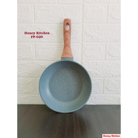 HONEY KITCHEN FRY PAN MARBLE 20 CM WAJAN GRANIT PENGGORENGAN NON STICK
