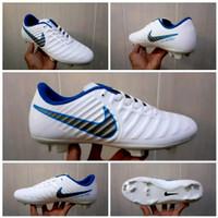 SEPATU BOLA BEST SELLER - White Blue, 39