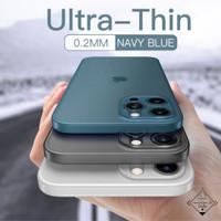 Ultra Thin Case Iphone 11 12 Mini Pro Max Casing Simple Softcase Doff