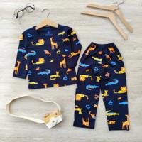 setelan piyama anak laki laki perempuan/Baju Tidur anak usia 1-6tahun