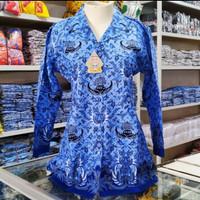 bisa COD Baju Seragam KORPRI Wanita Lapis Furing BK002