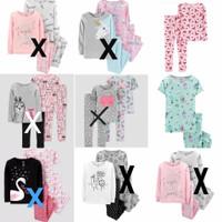 Carters Pajamas Girls Set   Setelan Baju Tidur Anak Cewek Part 6