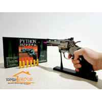 Korek Api Pistol Bara Las Pemantik Phyton Colt Revolver Rumah Grosir