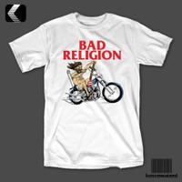 Kaos Band BAD RELIGION BR - JESUS RIDES AN OLD BIKE