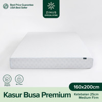 Zinus® Kasur 25 cm Premium High Density Foam - Ukuran Single XL