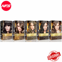 Loreal Excellence Fashion Hair Color/Pewarna Rambut Auburn-Ash-Brown