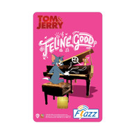 Kartu Flazz Limited Edition Tom & Jerry The Move Pink Berlogo Baru