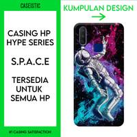 Casing HP Custom (Tersedia Untuk Semua HP) Space - Hype Series - Anti-Crack Case, Doff
