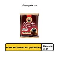 Kapal Api Special Mix Sachet 25 gr - 3 RENCENG (30 Sachet)