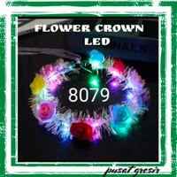 Bando Lampu / Flower Crown LED / Bandana Lampu