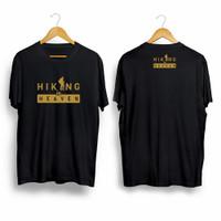 Kaos Outdoor HIKING IS HEAVEN / BAJU PENDAKI GUNUNG