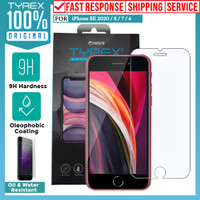 Tempered Glass Anti Gores iPhone SE 2020 / 8 / 7 / 6 Tyrex Clear Glass
