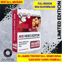 [GARANSI] AVS Video Editor 9 Software - FULL VERSION