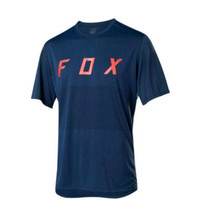 FOX RANGER Short Jersey Baju Sepeda BMX MTB DH Original Biru Navy