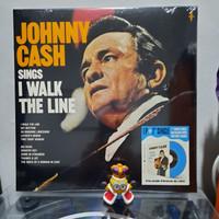 Vinyl Piringan Hitam Johnny Cash Sings I Walk The Line