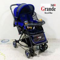 Pliko PK268 Grande 2in1 Baby Stroller Kereta Dorong Bayi & Ayunan