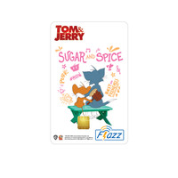 Kartu Flazz Limited Edition Tom & Jerry The Move Putih Berlogo Baru