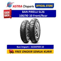 Pirelli SL26 100/90 10 SL26F/R Ban Vespa (2044800)