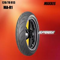 Ban Motor IMPOR - YAMAHA NMAX // MAXXIS MA-R1 120/70 Ring 13 Tubeless
