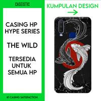 Casing HP Custom (Tersedia Untuk Semua HP) The Wild - Hype Series - Anti-Crack Case, Doff