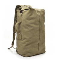 Travel Bag Tas Backpack Ransel Jinjing Pakaian Besar Duffel Canvas Gym