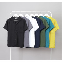 Shirt Man Amarine | Kemeja Kantor Acara Kasual Pria - Ribsgold