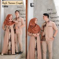 Baju Muslim Rafa Yumna Batik Couple