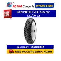 Ban Pirelli SL36 Sinergy 120/70 12 SL36 (Depan/Belakang) (2149700)