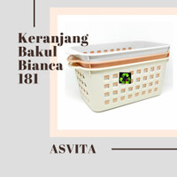 Keranjang Serbaguna/Bakul/Basket Bianca BK 181 Asvita