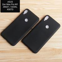 Asus Zenfone Max Pro M1 ZB601 / 602KL X00TD Softcase Black Matte Case