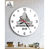 JAM DINDING CUSTOM DIAMETER 60 CM