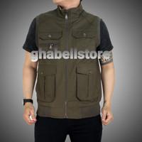 ROMPI JEEP IMPORT BOLAK BALIK - Hijau Army, XL