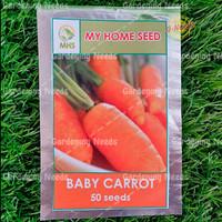 Bibit / Benih Baby Carrot Wortel Baby ( My Home Seed )
