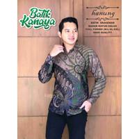 Baju Batik Pria Lengan Panjang Terbaru HANUNG Lapis Furing Halus