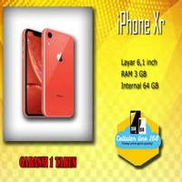 NEW Apple iPhone XR 64GB Garansi Distributor 1 Tahun
