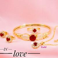 Xuping Set Perhiasan Wanita 23b1
