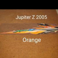 Jupiter Z 2005 orange List Striping Stripping Stiker Sticker