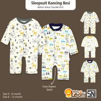 Jumper Bayi Jumsuit Panjang Bayi BABY LEON Baju Bayi Newborn JP-GY051