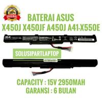 Original Baterai ASUS X450J X450JF A450J X550D X550DP/A41-X550E