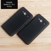 Case Slim Black Matte Xiaomi Redmi 2/2S/Prime Softcase Back Cover