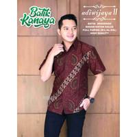 Baju Batik Pria ADIWIJAYA 2 By Kanaya Lapis Furing Halus