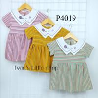 Baju Anak Perempuan Setelan Dress Impor Usia 6 bulan - 2 tahun P4019