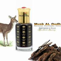 6ML Musk Al Oud Parfume Oil Arab (Parfum Minyak Kasturi Kijang Gaharu)